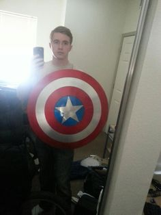 Captain America Shield DIY By LimitlessEarth