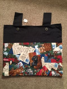 A personal favorite from my Etsy shop https://www.etsy.com/listing/481367020/walker-bag