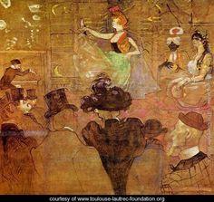La Goulue Dancing - Henri De Toulouse-Lautrec - www.toulouse-lautrec-foundation.org