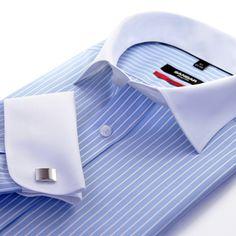 Executive Men's Shirt Mens Suits 2018, Best Suits For Men, Cool Suits, Dress Shirt And Tie, Dress Shirts, Business Shirts, Mens Attire, Savile Row, Tuxedo For Men