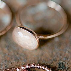"""Ring+""""Rosenquarz""""+von+Lebenslustiger.com+auf+DaWanda.com"""