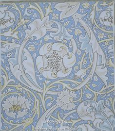Lechlade wallpaper, by William Morris. England, 1893