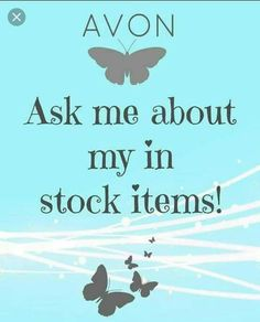 Ask me about my in stock items!! www.youravon.com/hlenox