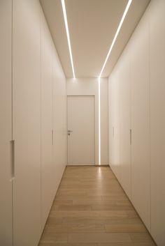 Architectural Lighting Design, Modern Lighting Design, Interior Lighting, Home Lighting, Hidden Lighting, Bedroom False Ceiling Design, Ceiling Light Design, Gypsum Design, Corridor Lighting