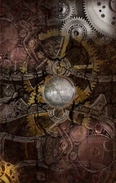 steampunk iPhone wallpaper