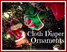 ClothDiaper Ornaments