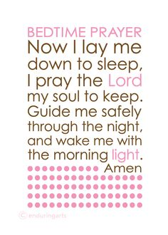 Baby sleep quotes bedtime prayer 46 ideas for 2019 Sleep Prayer, Prayer For Baby, Daily Prayer, Prayers For Baby Boy, Childrens Prayer, Prayer For My Children, Sleep Quotes, Baby Quotes, Bedtime Quotes