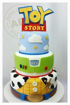 toy story cake - Compare Price Before You Buy Fête Toy Story, Bolo Toy Story, Toy Story Baby, Toy Story Theme, Toy Story Cakes, Toy Story Birthday Cake, 3rd Birthday, Birthday Ideas, Birthday Parties
