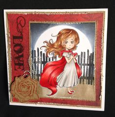 Image Stamp, Craft Items, Wonderland, Crafty, Frame, Projects, Stamps, Cards, Painting