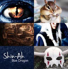 Akatsuki no Yona / Yona of the Dawn anime and manga aesthetics || Shin ah Blue…