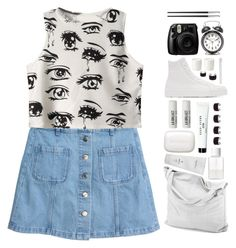 """*cry baby*"" by my-black-wings ❤ liked on Polyvore featuring Chicnova Fashion, chissene, Sisley Paris, SUQQU, Bobbi Brown Cosmetics, Jil Sander, L:A Bruket, Maison Margiela, The White Company and Supersmile"