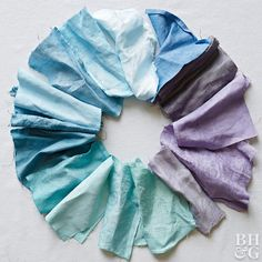 Homemade Natural Dyes for Fabric | Better Homes & Gardens...