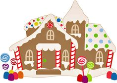 Silhouette Design Store - Search Designs : gingerbread house