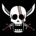 Shank's Jolly Roger by Z-studios.deviantart.com on @deviantART