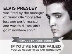 ELVIS PRESLEY Famous Failure