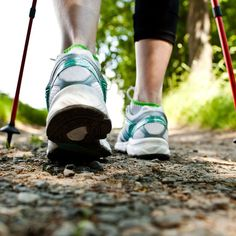 How to turn your walk into a workoutUpgrade your stroll with Nordic Walking What Is Nordic, Walking Poles, Get Toned, Walking Exercise, Major Muscles, Senior Fitness, Yoga Flow, Walk On, Running