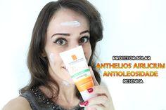 Quem tem pele oleosa sabe o sacrifício que é usar o protetor solar todos os dias. Então minha dermatologista sugeriu o Anthelios Airlicium Antioleosidade, da  La Roche Posay. http://petitandy.com