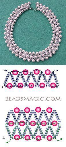 Collar de perlitas:
