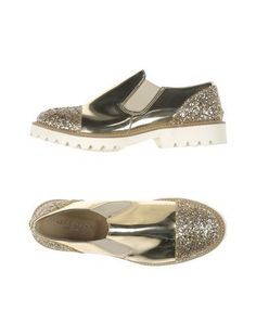 FABRIZIO CHINI Women's Low-tops & sneakers Silver 10 US