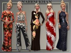 """Lana CC Finds - """"Naeem Khan Gowns Spring/ Summer 2016"""" by All About Style"""