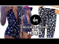 DIY -TRANSFORMANDO LEGGING EM BIQUÍNI (HOT PANTS) POR: JOELITA PASTURCZAK - YouTube