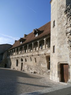 Ce qui reste du  château du roi à Nérac