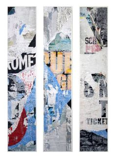 "Saatchi Art Artist Pola Braendle; Collage, ""Blue Amsterdam"" #art"