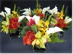 Low Tropical Centerpieces