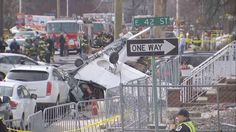 02/20/2017 - A small plane crashed Sunday on a residential street in New Jersey, injuring the pilot, knocking down power lines and damaging parked cars, officials said.