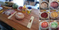 Plnený chlieb