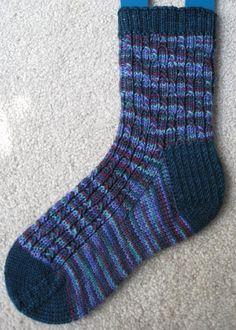 Skyp rib socks