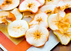 Need to get rid of some fruit before it goes bad? Turn it into chips: Baked Apple Chips.