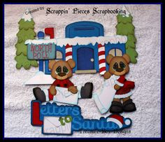 Letters to Santa Scrappin' Pieces Scrapbooking