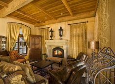Tuscan living rooms
