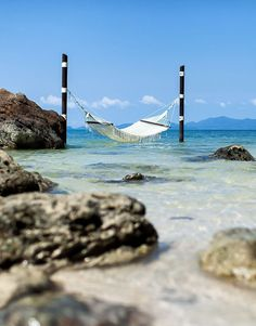 Four Seasons, Koh Samui, Thailand, hammock in the sea