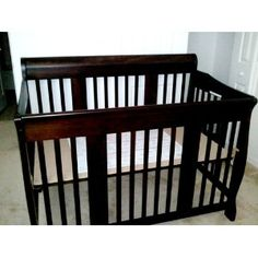 Stork Craft Tuscany 4-in-1 Stages Crib.  Like the idea - need to do more research