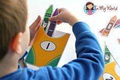 Back to School Preschool Centers - Number Sorting