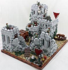 Super cool LEGO castle build