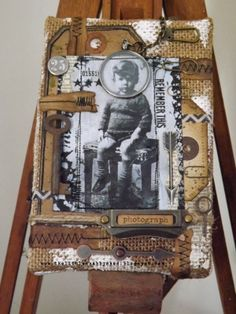 The Little Shabby Shed: Burlap Boy....