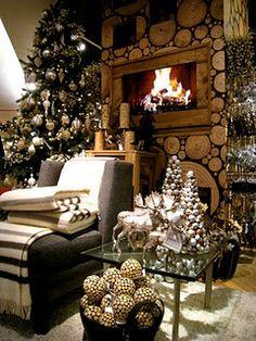 Christmas cozy room