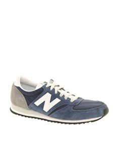 finest selection 0216d 4ca36 420 vintage sneakers in navy and gray New Balance 420, Cozy Fashion, Teen  Fashion
