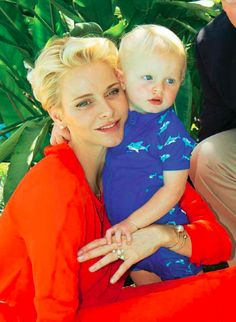 Prinses Charlene en Prins Jacques