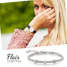 #braccialetto #bracelet #sochic #women #dona #femme #Flaircollection #nominationItaly   http://www.nomination.com/nllnk/?co_id=11889