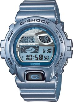 3d92bc3343fc5 Casio G-Shock Steel Blue Bluetooth Smart Watch