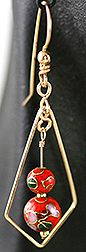 Step 15 to Sword Jewelry Wire & Beads Earrings Jewelry Making Project