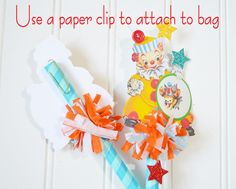 Lori Hairston: Cutie Circus Decorations!tutorial