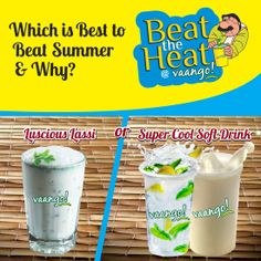 who want to win are requested to post a yummilicious reason that why they prefer one beater over other. We are looking forward to some best entries. Hurry up! Beat The Heat, Beats, Coupons, Foodies, Puzzle, Drinks, Summer, Drinking, Puzzles