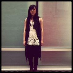 Jess in the Summer. #ootd #vintage #crochet #love #summer