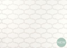 Floral Trellis Dove Grey Patterned Wallpaper