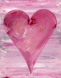The Jessica Wrapped Canvas Wall Art adds a pop of pink to your home. This brightly hued canvas is gallery wrapped and ready to hang for. I Love Heart, Happy Heart, My Heart, Pink Love, Pretty In Pink, Pink Purple, Hot Pink, Fleurs Kanzashi, Jolie Photo